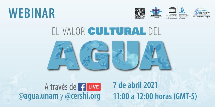 Webinar: El Valor Cultural del Agua
