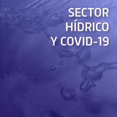 Sector hídrico y COVID-19