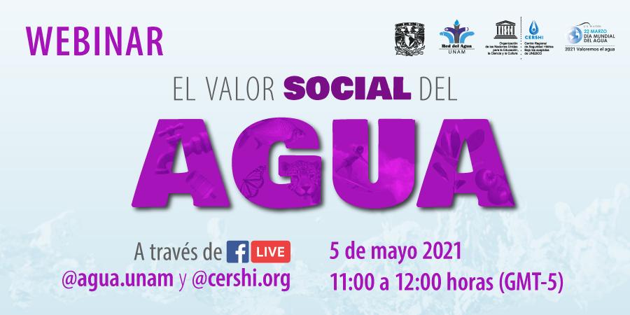 Webinar: El Valor Social del Agua